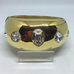 Vintage GIVENCHY Clamper Bangle Bracelet